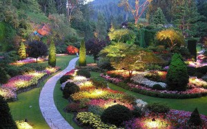 ButchartGardensAtNight