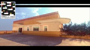 Gli esterni dell'edificio visitabile con l'Oculus Rift