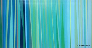 """Una delle """"Agavi"""" di Masili, tra linee e colori. Foto tratta dal sito http://www.stefanomasili.it/."""