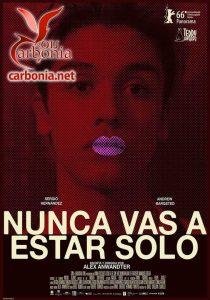 nunca_vas_a_estar_solo_affiche