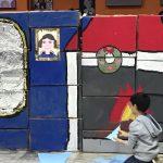 Una foto di bimbi che fanno teatro