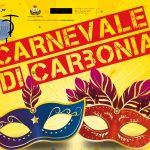 Un immagine della locandina ufficiale del Carnevale 2017 di Carbonia.
