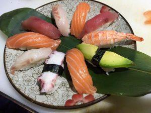 Foto dei Nighiri del ristorante Sushi Niwa di Cagliari.