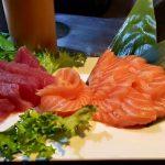 Foto del sashimi del Sushi Niwa di Cagliari.
