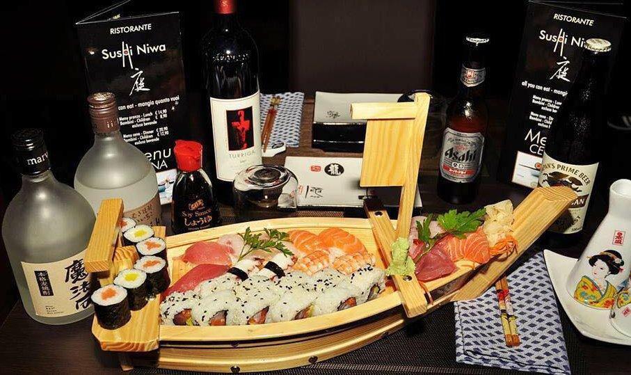 Immagine di copertina di una barca di sushi