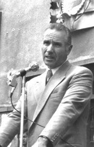 Una foto in bianco e nero di Pietro Cocco tratta dalla locandina dell'evento.