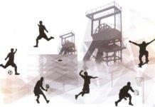 Copertina Carboniadi con torri e sportivi