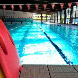 Foto della piscina di Carbonia, una delle sedi delle Carboniadi