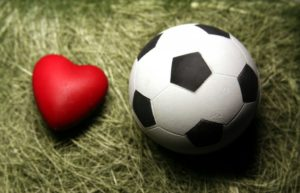 Immagine di un cuore con pallone per simboleggiare le carboniadi