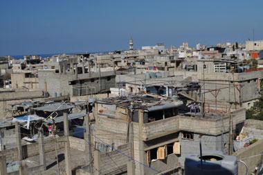 Ain al-Hilweh - Foto del Campo Profughi.