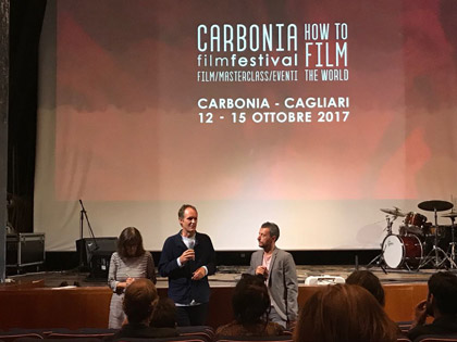 Ben Russell parla di Good Luck al Carbonia Film Festival.