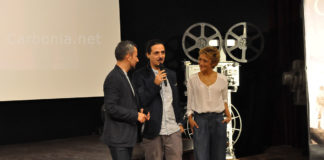 Il Cratere al Carbonia Film Festival svolto a Cagliari - Foto della discussione.
