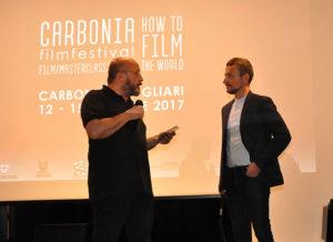 Carbonia Film Festival a Cagliari, foto della presentazione.