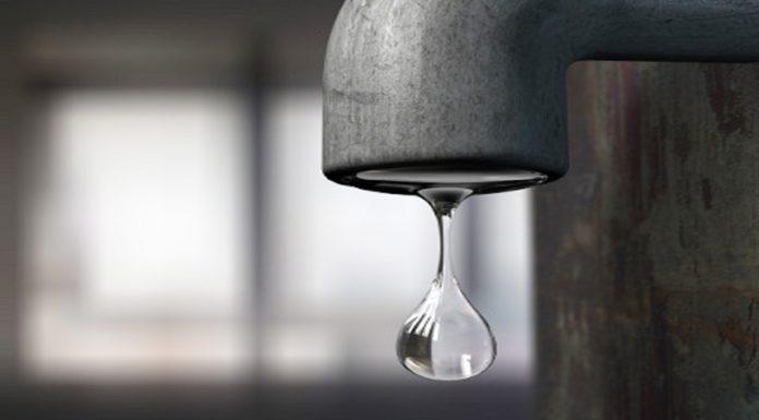 interruzione programmata del servizio idrico