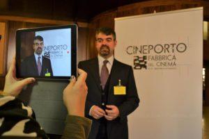 Paolo Serra intervistato per il Cineporto.